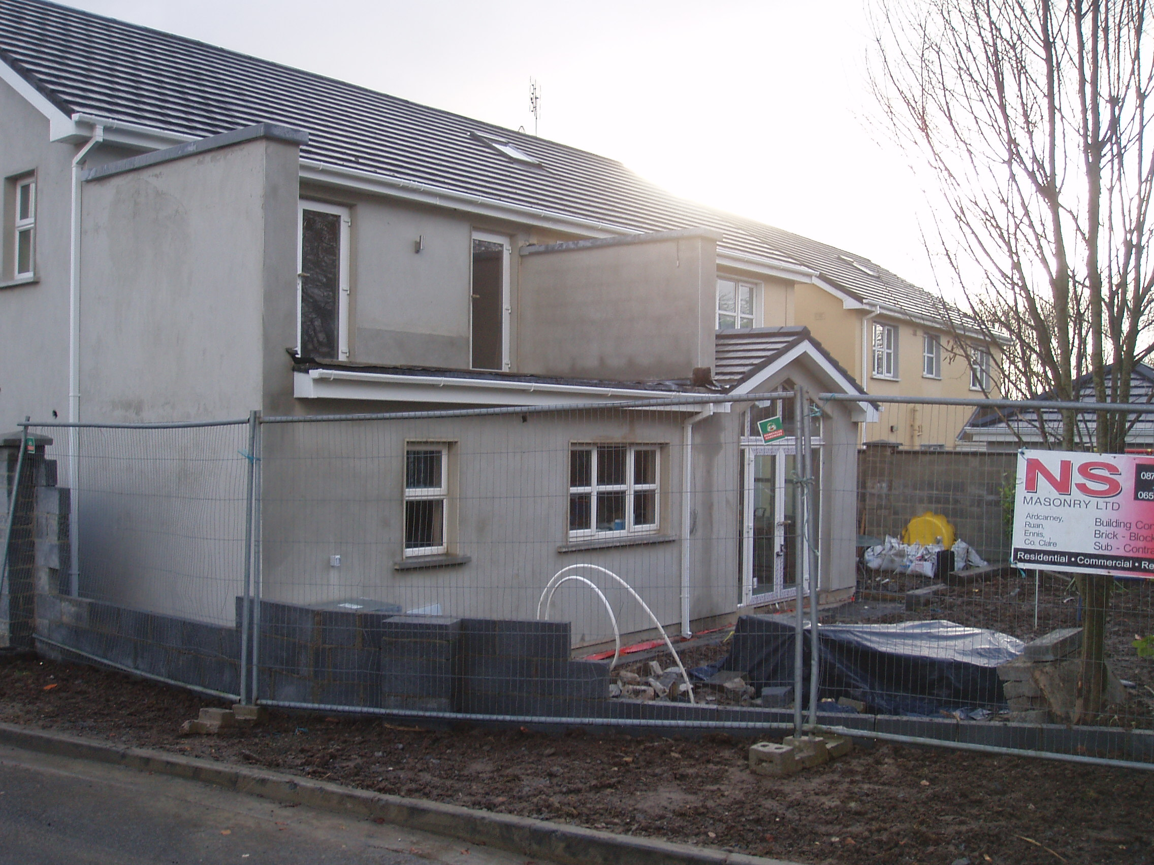Extention Limerick Rd Ns Construction Ennis Clare